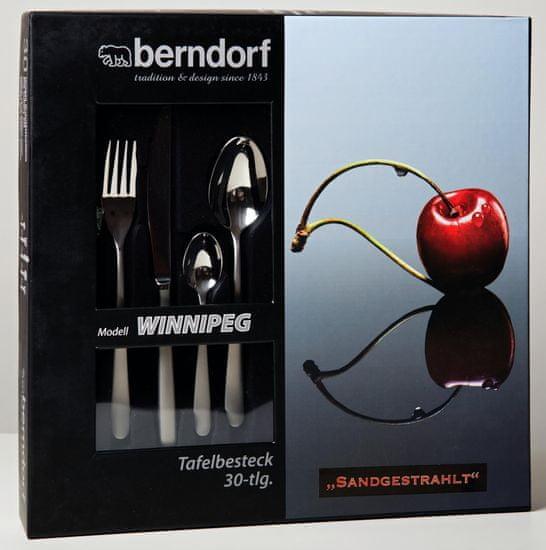 Berndorf-Sandrik Evőeszköz készlet Winnipeg homokszínű 30 db