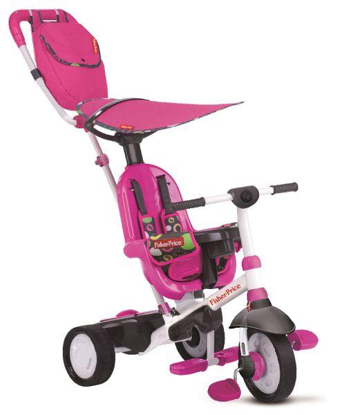 Fisher-Price Tříkolka Smart Trike Charisma 3v1 růžová
