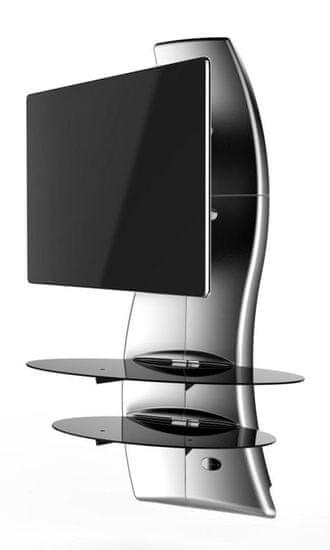 Meliconi Ghost Design 2000 ROTATION, Metál-Ezüst