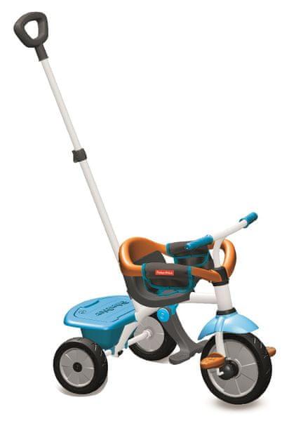 Fisher-Price Tříkolka Smart Trike Jolly Plus 3 v 1 modrá/oranžová