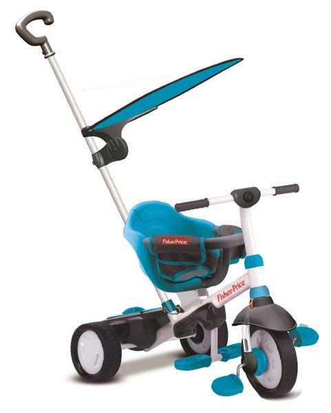 Fisher-Price Tříkolka Smart Trike Charm Plus 3v1 modrá