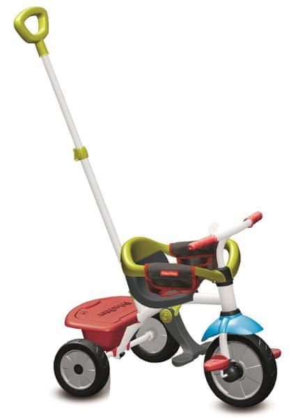 Fisher-Price Tříkolka Smart Trike Jolly Plus 3 v 1 zelená/červená