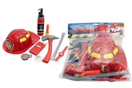 Unikatoy set za gasilca+čelada, (24440)