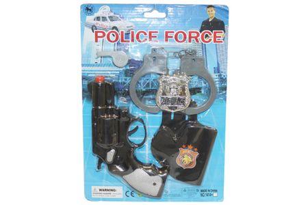 Unikatoy policijski Force set, (24321)