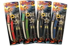 Unikatoy ninja set orožja, (21470)