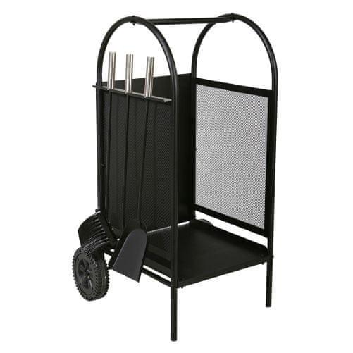 M.A.T. Group koš krbový/vozík s nářadím v.80cm, ocel sada 3díl.