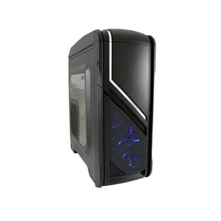 LC Power ohišje Gaming 979B Silver Strike ATX USB3.0, črno