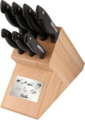 Fissler Sada nožů v bloku 8 ks Signum přírodní