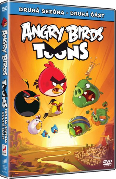 Angry Birds: Toons (2. série, druhá část) - DVD