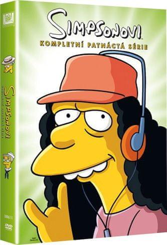 Simpsonovi: 15. série - DVD