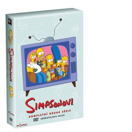 Simpsonovi: 2. série - DVD