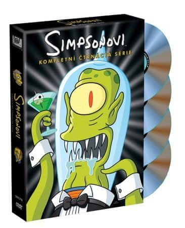 Simpsonovi: 14. série - DVD