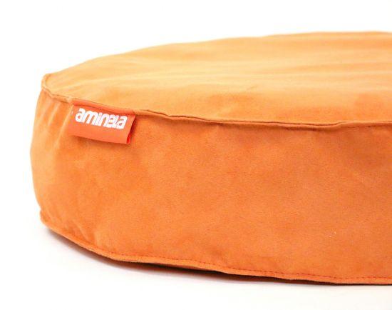 Aminela pasja postelja Full Comfort, 60/15c m, oranžna