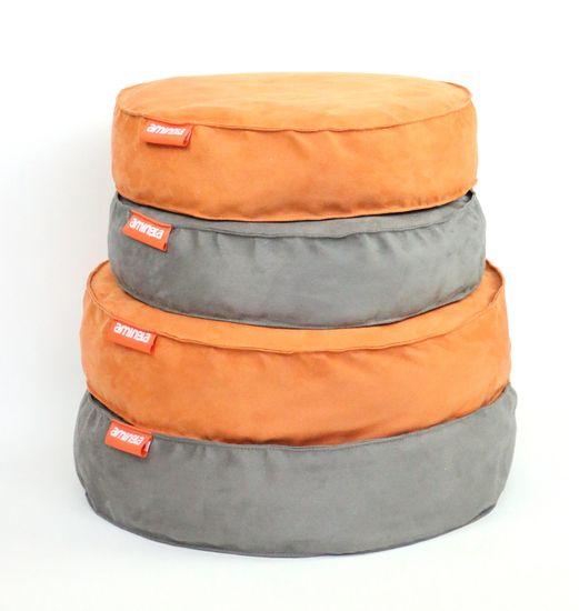 Aminela pasja postelja Full Comfort, 50/12 cm, oranžna