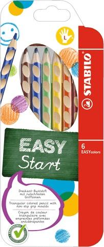 Pastelky Stabilo EASYcolors pro leváky 6 ks