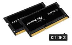 Kingston pomnilnik (RAM) HyperX IMPACT 8 GB (2x4GB), CL11 SODIMM, PC1866