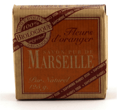 Fissi Marseille toaletno milo Pomarančni cvet, 125 g