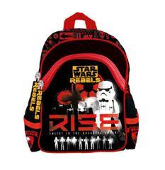 St.Majewski Plecak szkolno-wycieczkowy Star Wars Rebels biały Clone