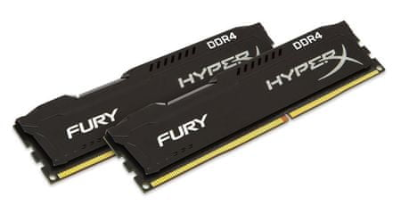 Kingston pomnilnik HyperX Fury 16 GB (2x8GB) CL14 2133 MHz (HX421C14FB2K2/16)