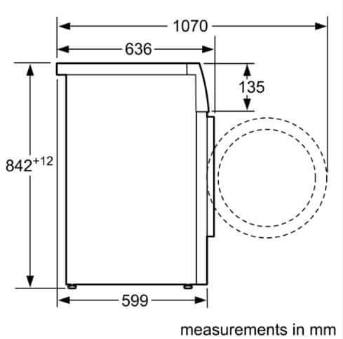 Bosch sušička prádla WTH83000BY - použité