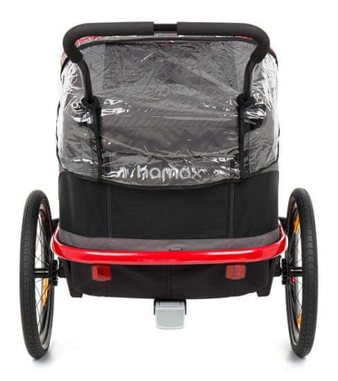 Hamax OUTBACK Rain Cover pro dvoumístný vozík