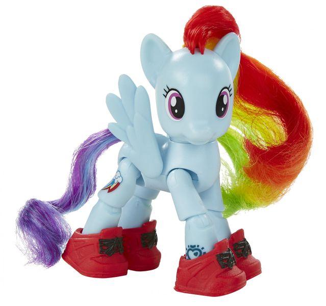 My Little Pony Poník s koubovými body Rainbow Dash