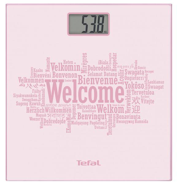 Tefal Premiss pastel pink welcome Osobní váha