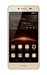 Huawei Y5 II, DualSIM, zlatý