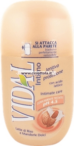 Vidal intimno milo Protection&Lenitive, 250 ml
