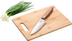 Lamart Bamboo Doska a nôž 30x22 cm LT2059