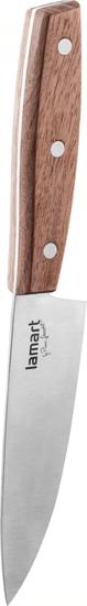 Lamart Bambusova rezalna deska in nož, 30x22 cm LT2059