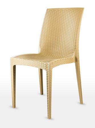 MEGA PLAST MP1352 DALIA Kerti szék, Okker