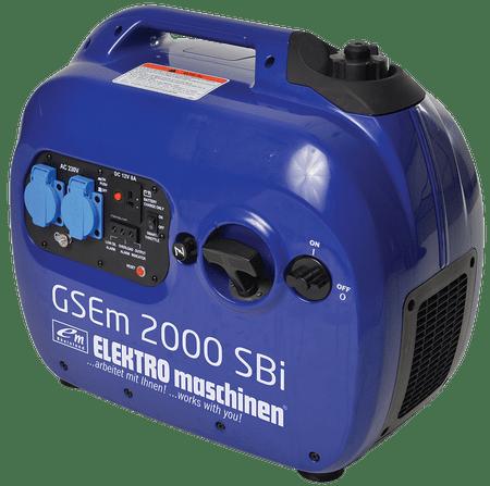 Elektro-Maschinen bencinski agregat GSEm 2000 SBI- inverter