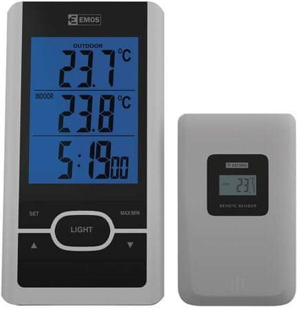 EMOS termometr bezprzewodowy E0107T