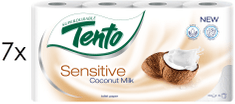 Tento Coconut Sensitive 3 vrstvý 7 x 8 roliek