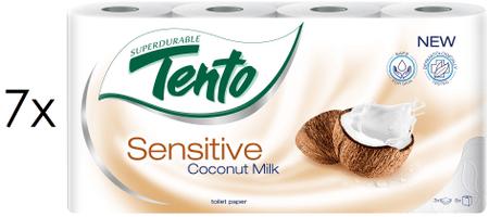 Tento Coconut Sensitive 3 vrstvý 7 x 8 rolí