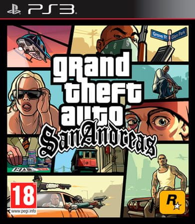 Take 2 GTA San Andreas, PS3
