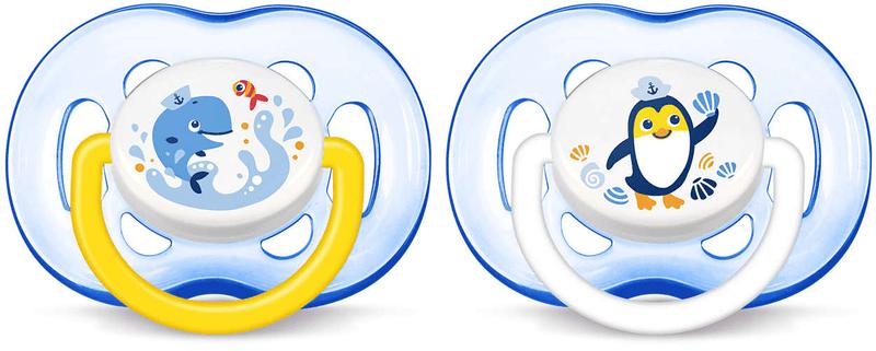 Avent Šidítko Sensitive 18+m. bez BPA, 2 ks - chlapec