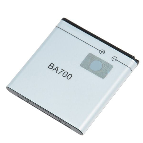 Sony Ericsson baterie, BA-700, 1500mAh, BULK