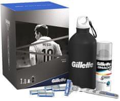 Gillette Mach3 Turbo Darčeková sada Messi