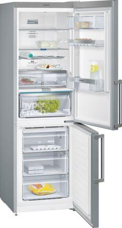 SIEMENS KG36NAI45 Kombinált hűtőszekrény, 324 l