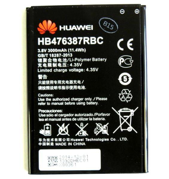 Huawei baterie, HB476387RBC, 3000mAh, BULK