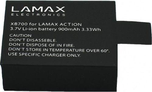 LAMAX Li-ion akumulátor pro kamery LAMAX X8 Electra