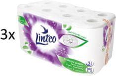 LINTEO Satin toaletni papir, 3-slojni, 3 x 16 rola