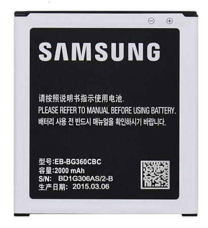 SAMSUNG baterie, EB-BG360CBC, 2000mAh, BULK