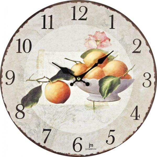 Lowell Designové nástěnné hodiny 21423