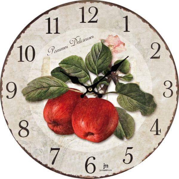 Lowell Designové nástěnné hodiny 21425