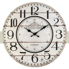 Lowell Designové nástěnné hodiny 21455