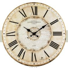 Lowell Designové nástenné hodiny 21456