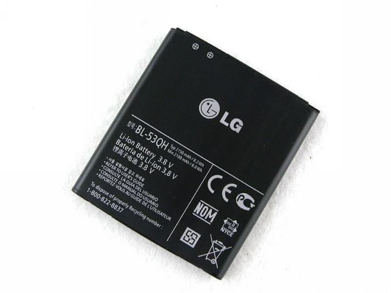 LG baterie, BL-53QH, 2150mAh, BULK